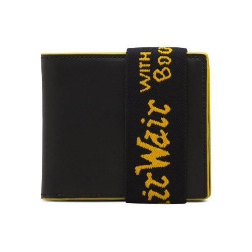 Portfel Dr. Martens ELASTIC WALLET  Black Smooth AC718017