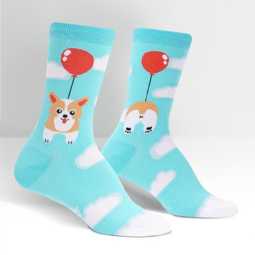 Skarpety damskie SOCK IT TO ME Pup, Pup, and Away W0178
