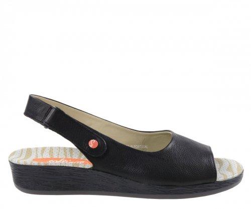Sandały Softinos ALL 454 Black Smooth P900454000