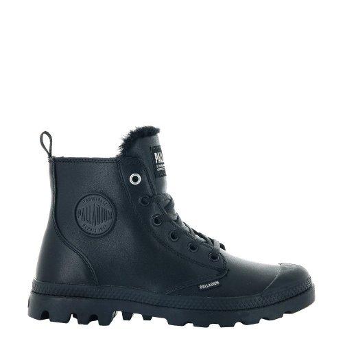 Buty Palladium PAMPA HI ZIP LEATHER S Black 97223010 OCIEPLANE