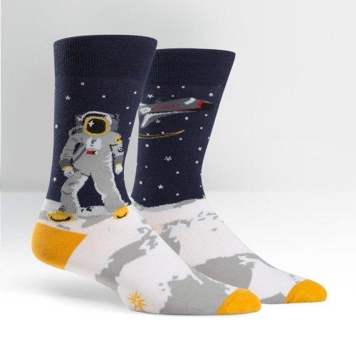 Skarpety męskie Sock It To Me One Giant Leap MEF0114