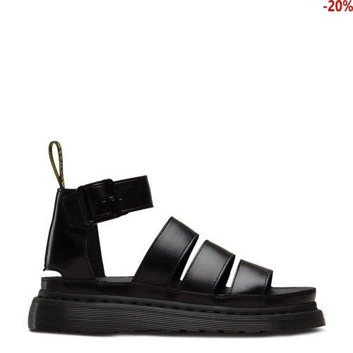 Sandały Dr. Martens CLARISSA II Black Brando 24477001