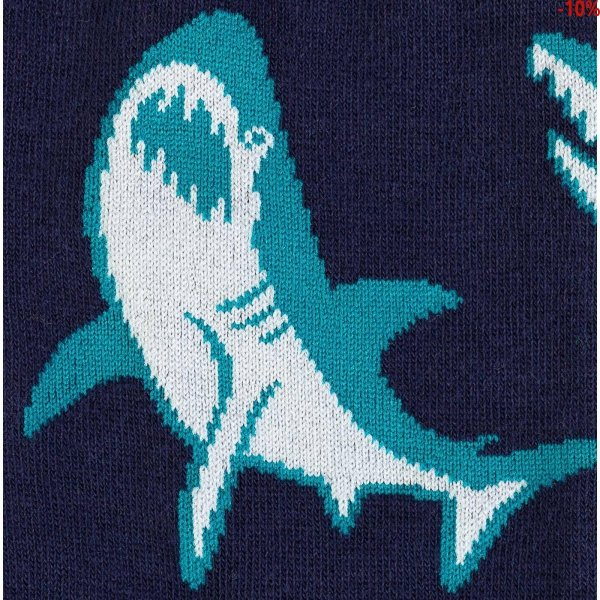 Skarpety męskie Sock It To Me SHARK ATTACK