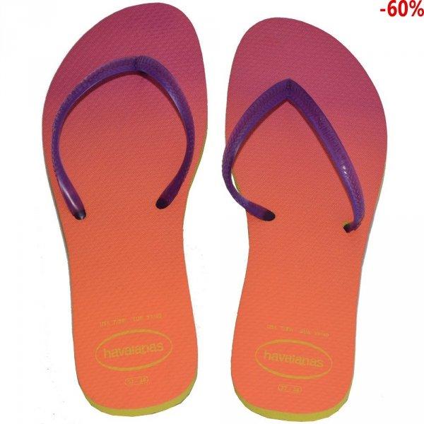 Klapki Havaianas FL SUNSET CF Yellow Purple