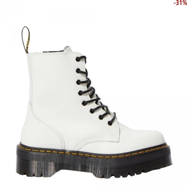 Dr. Martens JADON White Polished Smooth 15265100