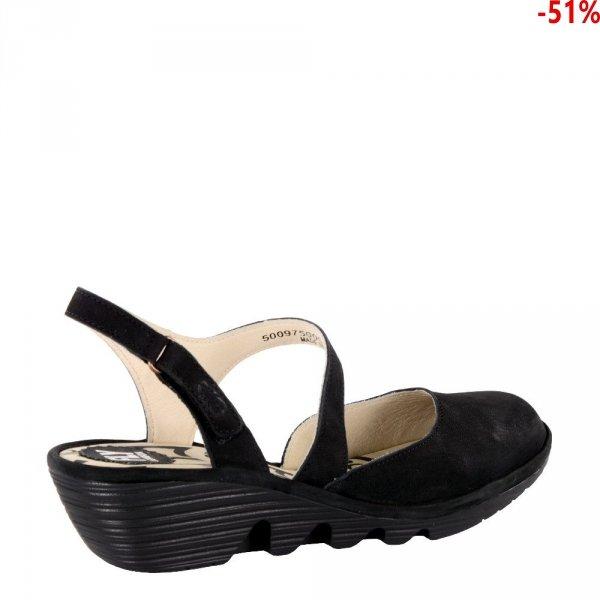 Sandały Fly London PELE 975 Black Cupido P500975000