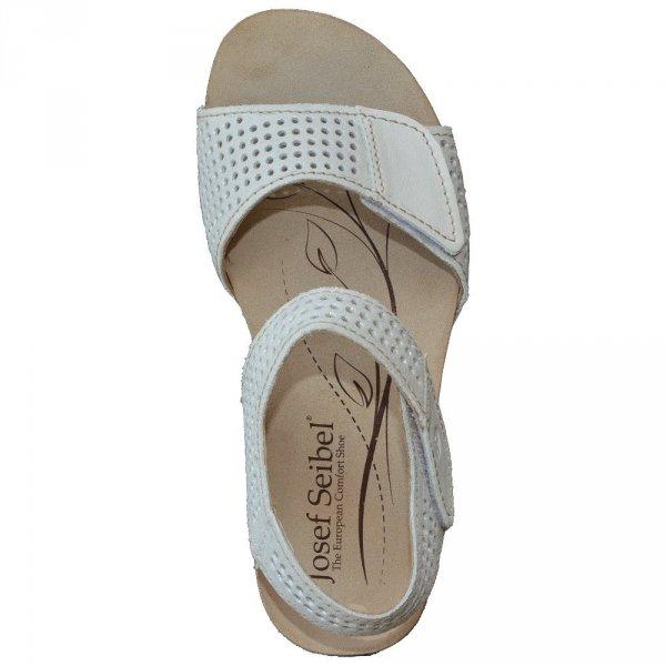 Sandały Josef Seibel ANGIE 05 Bianco Wais
