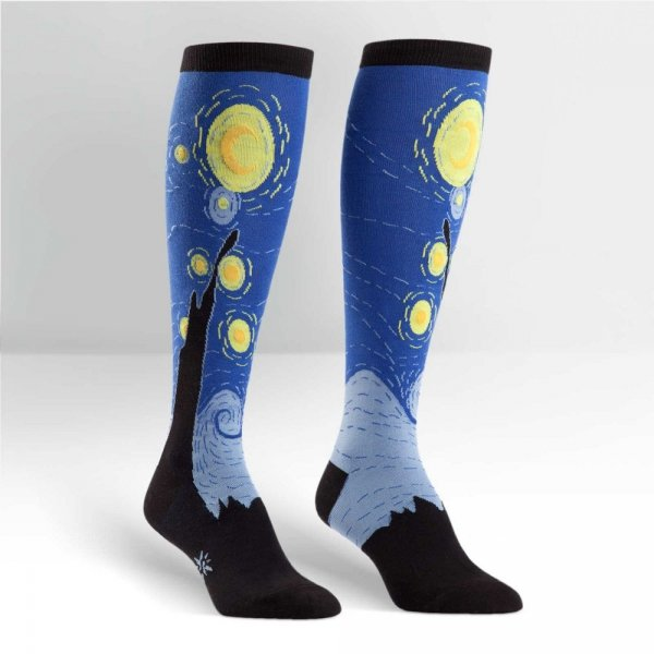 Skarpety damskie Sock It To Me Starry Night F0121