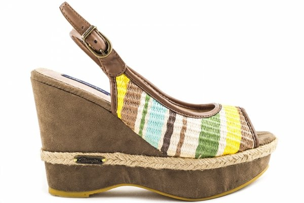 Sandały Wrangler HOLY MALIBU YELLOW WL131522-189