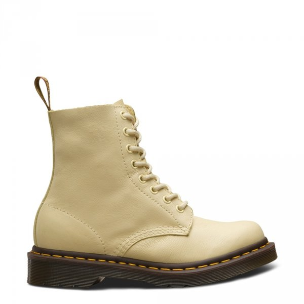 Buty Dr. Martens 1460 PASCAL Pastel Yellow Virginia 24482757