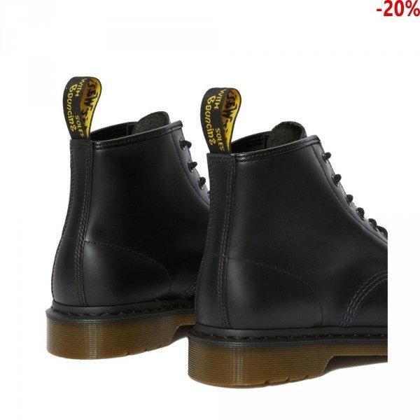 Buty Dr. Martens 101 Black Smooth 24255001 (Bez nici)