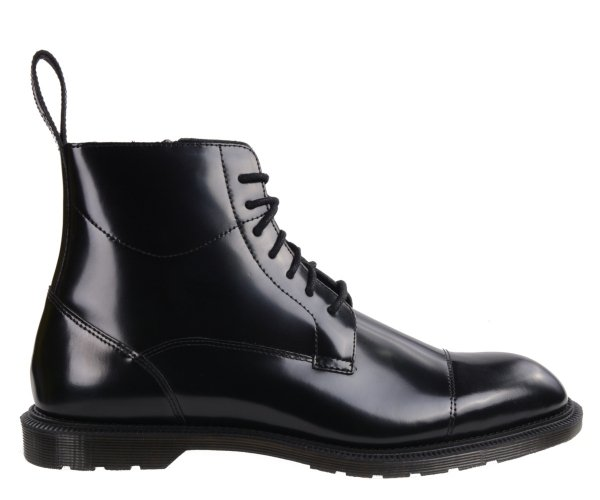 Botki Dr. Martens WINCHESTER Black Polished Smooth