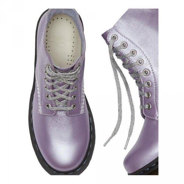 Buty Dr. Martens 1460 PASCAL Lavender Metallic Virginia 24984666