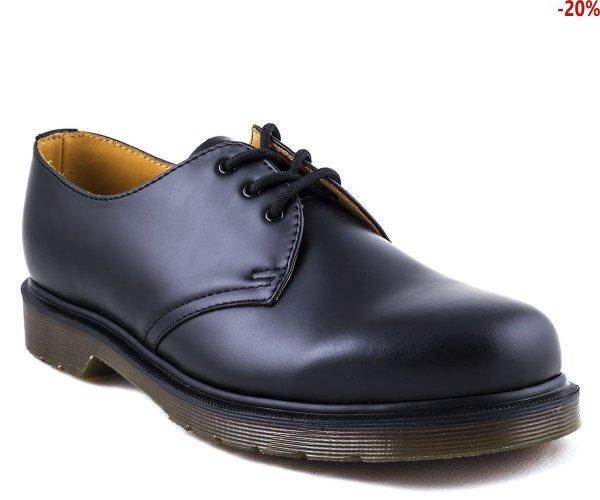 Półbuty Dr. Martens 1461 PW Black Smooth 11839002