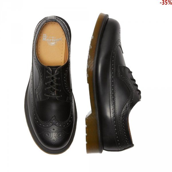 Półbuty Dr. Martens 3989 Black Smooth 24340001