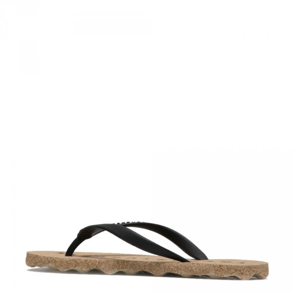 Klapki Asportuguesas BASE Natural Black P018036001