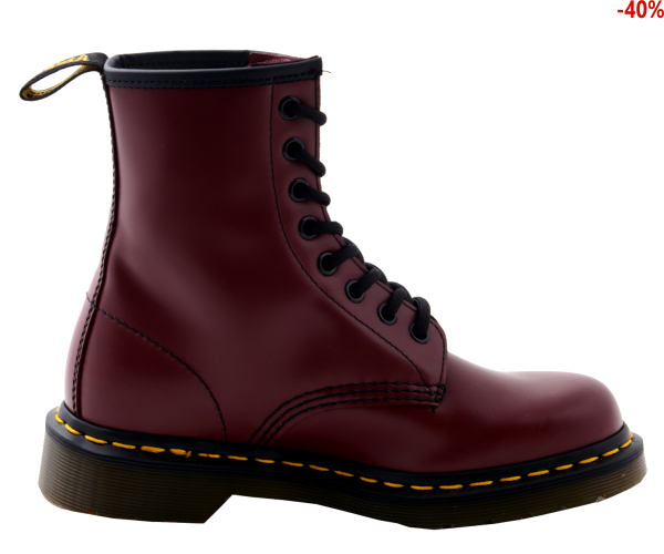Buty Dr. Martens 1460 SMOOTH Cherry Red Smooth 10072600