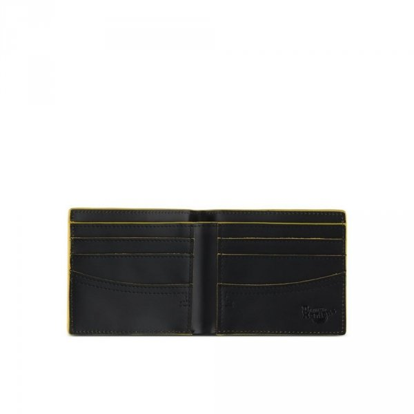 Portfel Dr. Martens ELASTIC WALLET Black Smooth AC718017