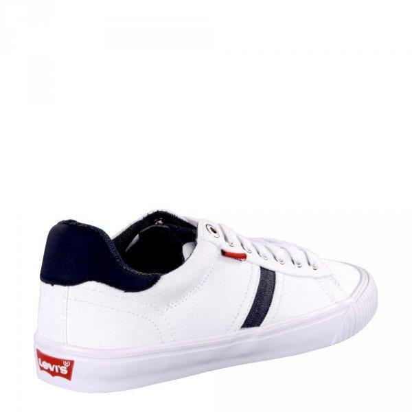 Sneakersy Levi's SKINNER White 227833191951