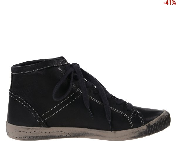 Botki Softinos ISLEEN Black Smooth Lea