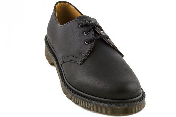 Półbuty Dr.Martens 1461 Black Greasy PW (bez nici) 10078005