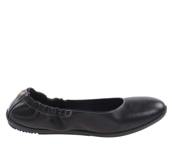 Balerinki Softinos ONA 380 Black Smooth P900380021