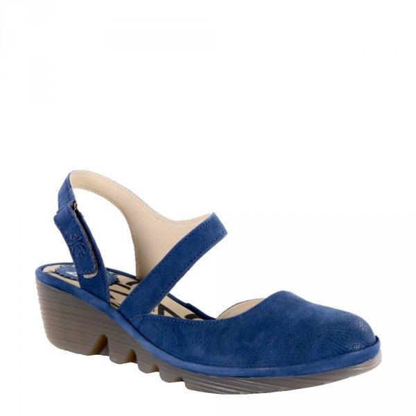 Sandały Fly London PELE 975 Blue Cupido P500975009