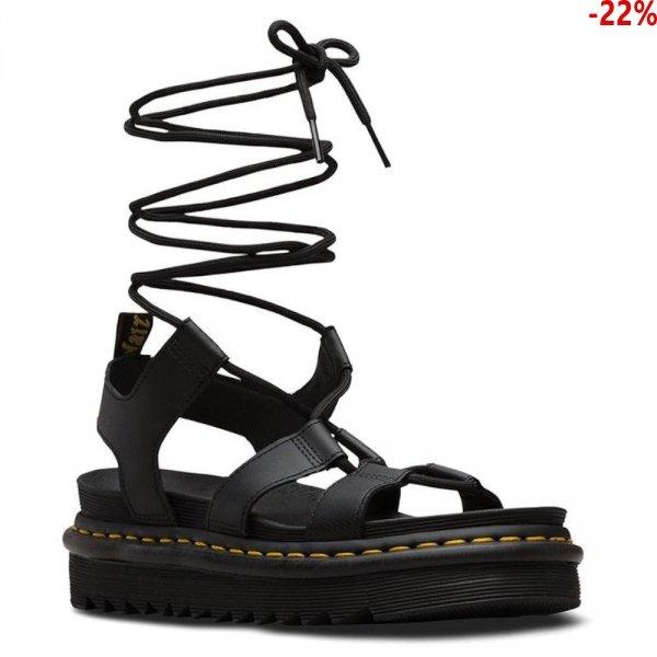 Sandały Dr. Martens NARTILLA HYDRO Black Leather 24641001