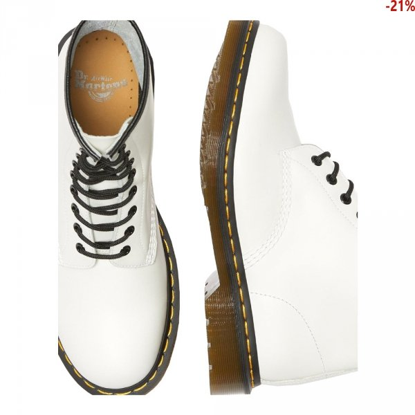 Dr. Martens 1460 White Smooth 11822100