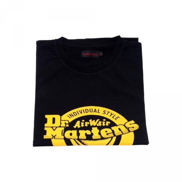 T-Shirt Dr. Martens LOGO T SHIRT Black Yellow AC723001