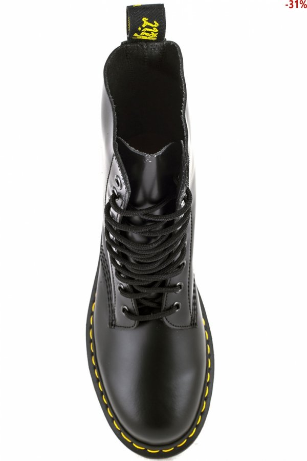 Buty Dr. Martens 1490 Black Smooth 11857001