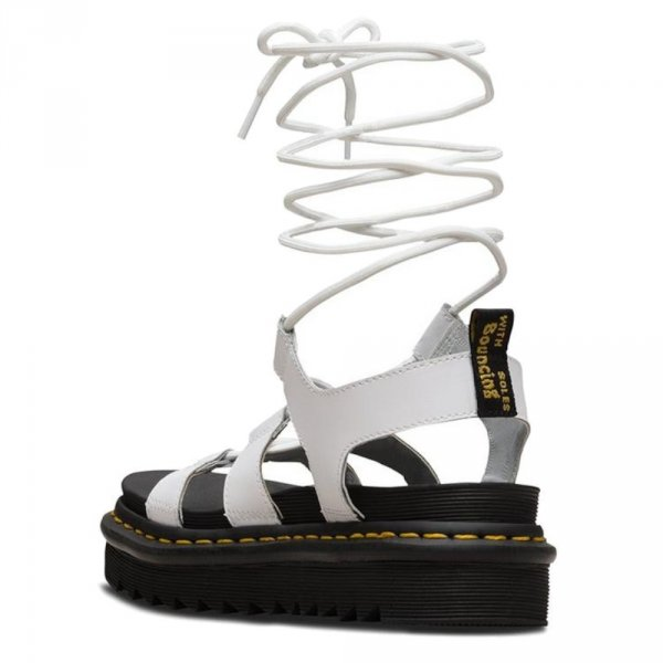 Sandały Dr. Martens NARTILLA HYDRO White Leather 24641100