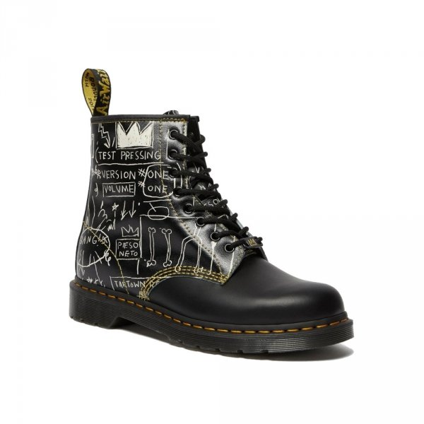 Buty Dr. Martens 1460 BASQUIAT Black Backhand 26319009