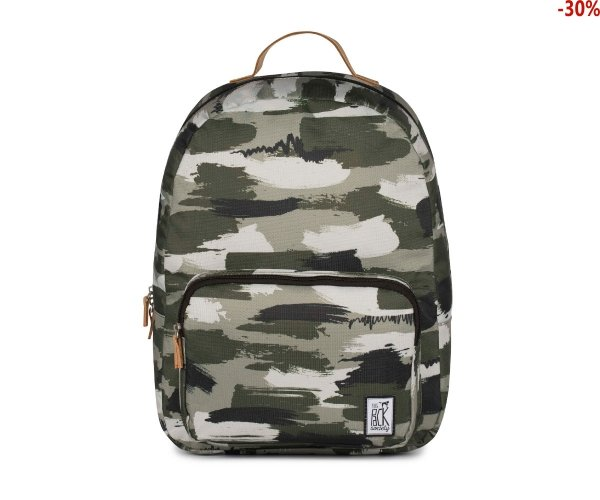 Plecak The Pack Society CLASSIC BACKPACK Green Camo Allover 184CPR702.74