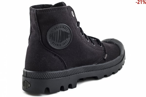Buty Palladium MONOCHROME Black 73089001