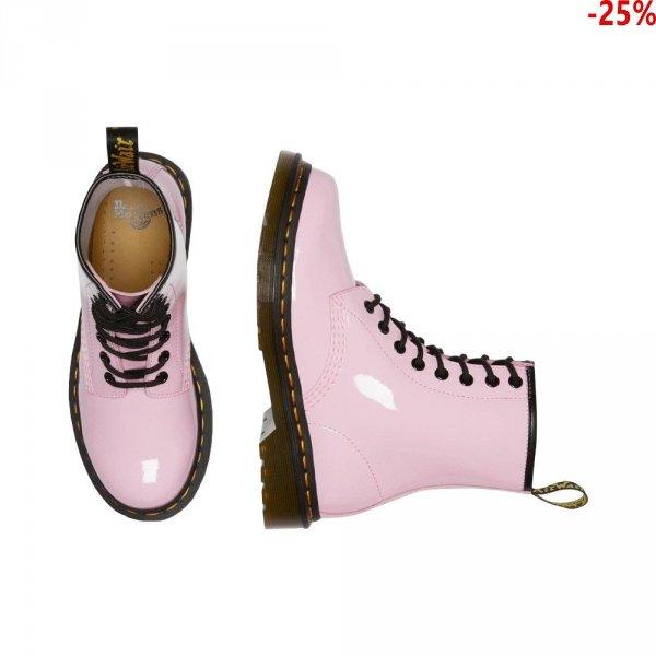 Buty Dr. Martens 1460 Pale Pink Patent Lamper 26425322