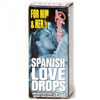 Legandarne krople podniecające dla kobiet -SPANISH LOVE DROPS LAVETRA 15 ML