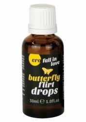 Intymne krople podniecające -Ero Butterfly Flirt Drops 30 ml