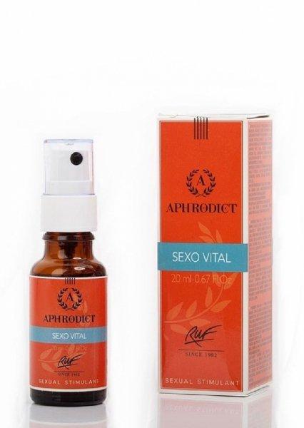Krople afrodyzjakalne -APHRODICT SEXOVITAL 30 ml