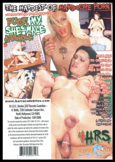 DVD-FUCK MY SHE-MALE ASSHOLE