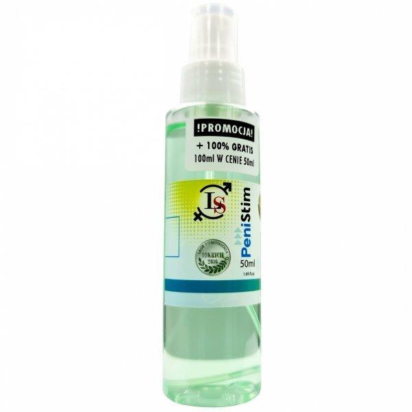 penistim spray 50ml erekcja, powiększenie, wytrysk