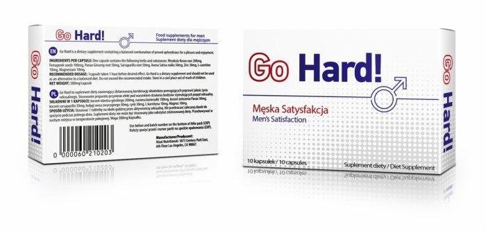 Go Hard - 1 kapsułka