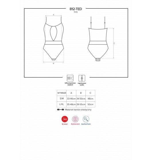 812-TED body czarne L/XL