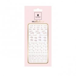 Nail Stickers STYLE 5 ROSE GOLD - Mistero Milano