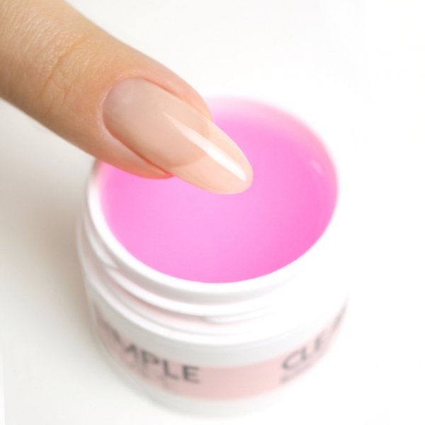 SIMPLE SHAPE Clear Pink 15ml - Mistero Milano