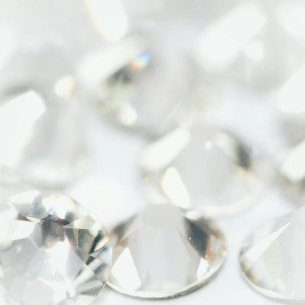 Opal Crystals SS4 WHITE 50st.