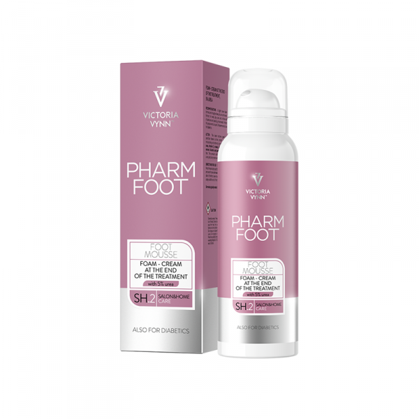 PHARM FOOT MOUSSE 125 ml - FINISHING CREAM SCHAUM 5% Urea