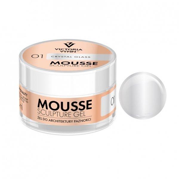 MOUSSE SCULPTURE GEL CRYSTAL GLASS 01 - 50ml