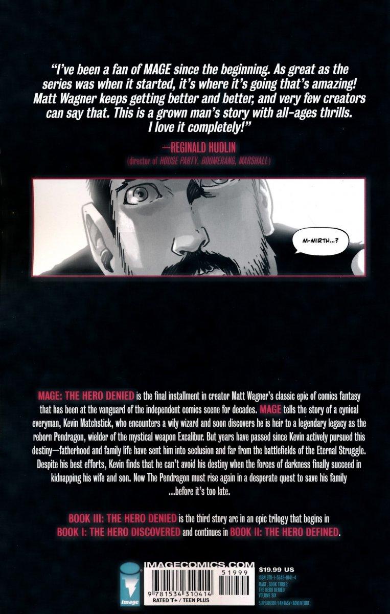 MAGE THE HERO DENIED VOL 06 BOOK THREE SC (Oferta ekspozycyjna)