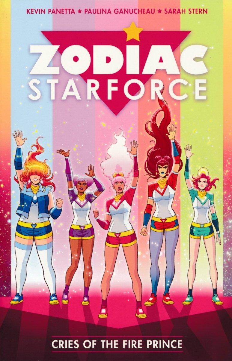 ZODIAC STARFORCE TP VOL 02 CRIES OF THE FIRE PRINCE (Oferta ekspozycyjna)